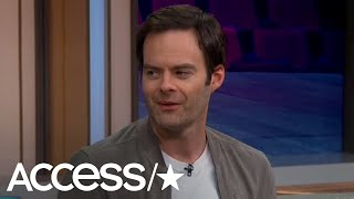 Bill Hader Is 'So Excited' For His 'Hero' Adam Sandler To Host 'SNL' | Access