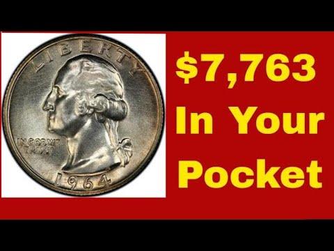 Valuable 1964 quarters worth money! 1964 quarters worth! Check your