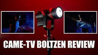 ULTIMATE Portable LED for Hybrid Shooters    Came-TV Boltzen Review    Gear Talk #9