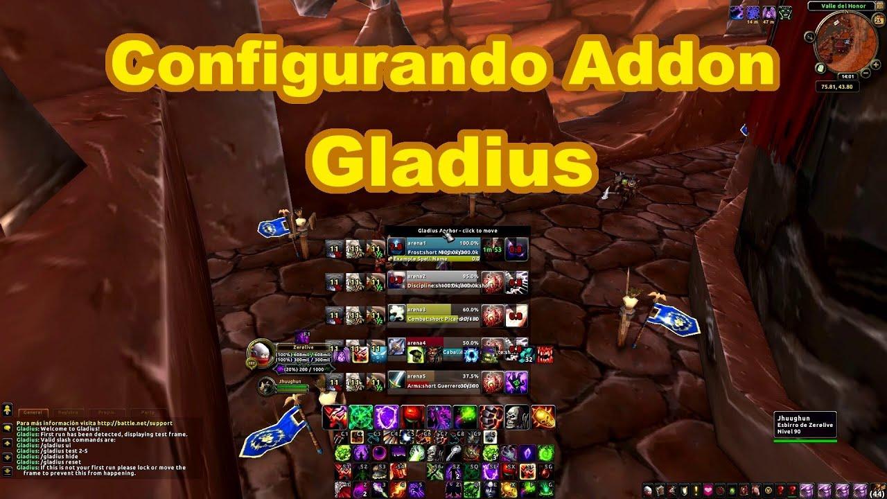 add on wow gladius 3.3.5