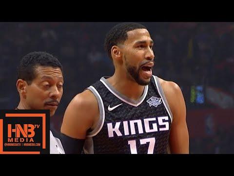 LA Clippers vs Sacramento Kings 1st Half Highlights / Week 11 / Dec 26