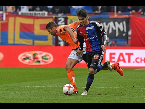 Highlights: FC Basel vs. FC Lausanne-Sport (4:3) - 19.02.2017