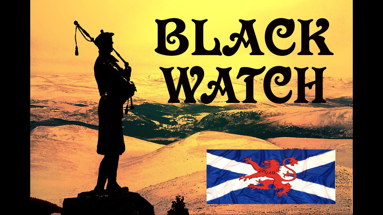 ⚡️THE DARK ISLE ⚡️ THE BLACK WATCH ⚡️Pipes & Drums⚡️