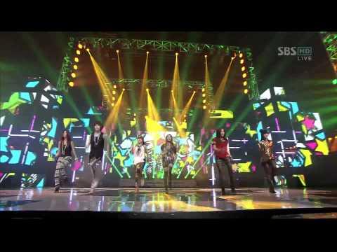 T-ara - Lovey Dovey Remix (SBS Inkigayo 120205) Live HD