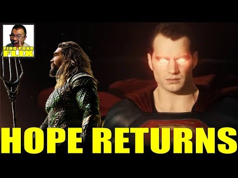 HOPE RETURNS – Aquaman Winning in China, Henry Cavill is still Superman, Snyder Watch and Tinfoil!