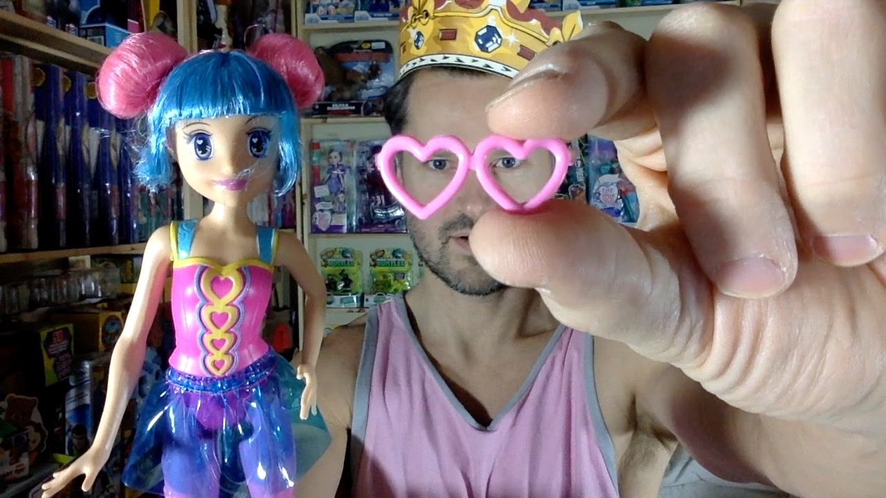 d336d072d145 Barbie Video Game Hero Pink Eyeglasses Maia Doll Unboxing Review - YouTube