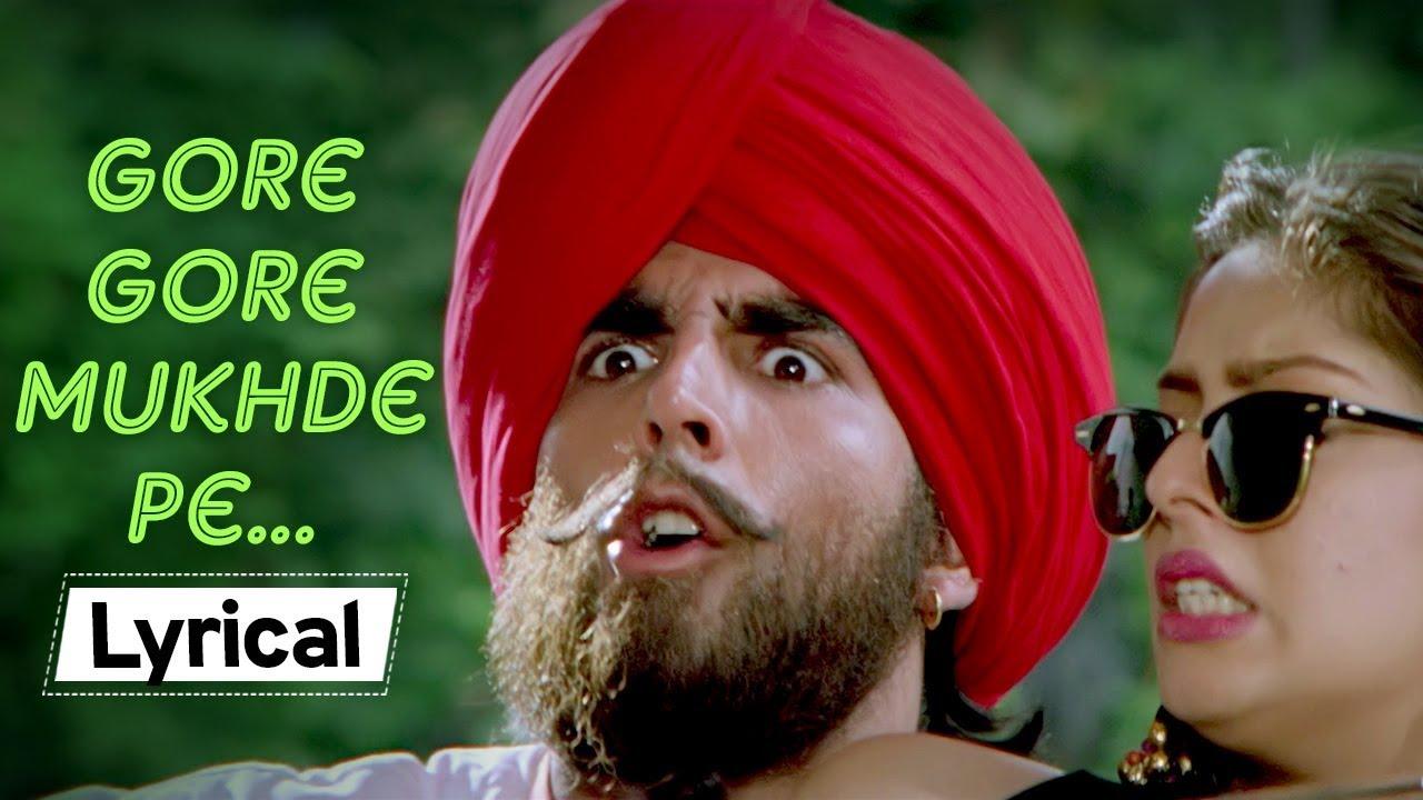 Download Gore Gore Mukhde Pe With Lyrics   Suhaag (1994)   Nagma   Akshay Kumar   Udit Narayan   Alka Yagnik