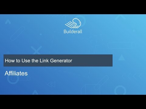 How to Use the Link Generator