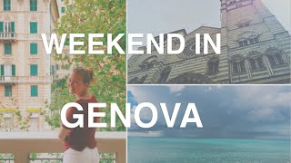 Weekend in Genova / Genua - Travel Diary | Nie Polka