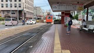 伊予鉄道 いよてつ 道後温泉行き 松山駅にて