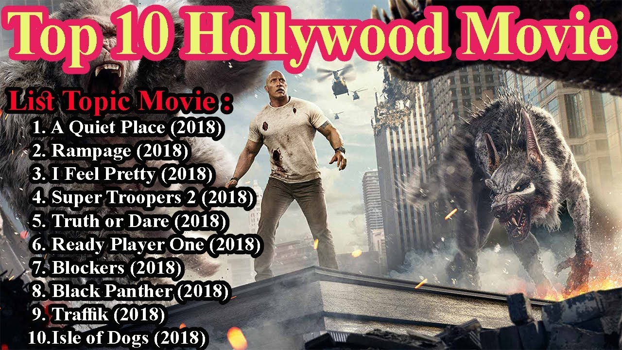 Top 10 Hollywood Movie 2018 Imdb Now Playing April 23 2018 Youtube