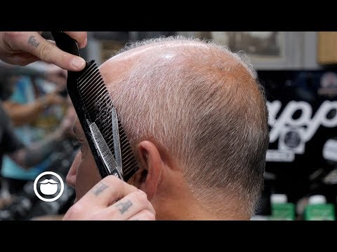 The Haircut To Get When You Don't Want to Shave Your Head