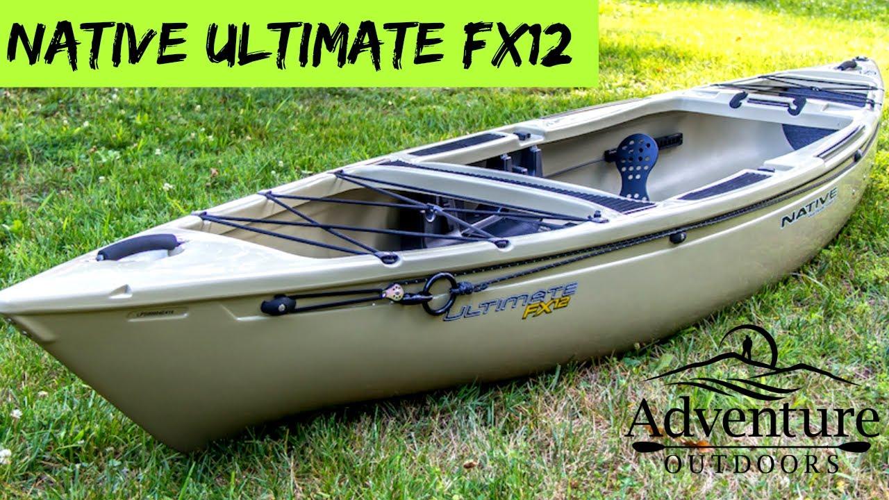Native Ultimate FX12 Kayak ~ Very Stable Fishing Kayak