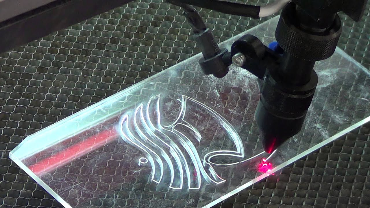 Laser cut acrylic fish China laser machine YouTube