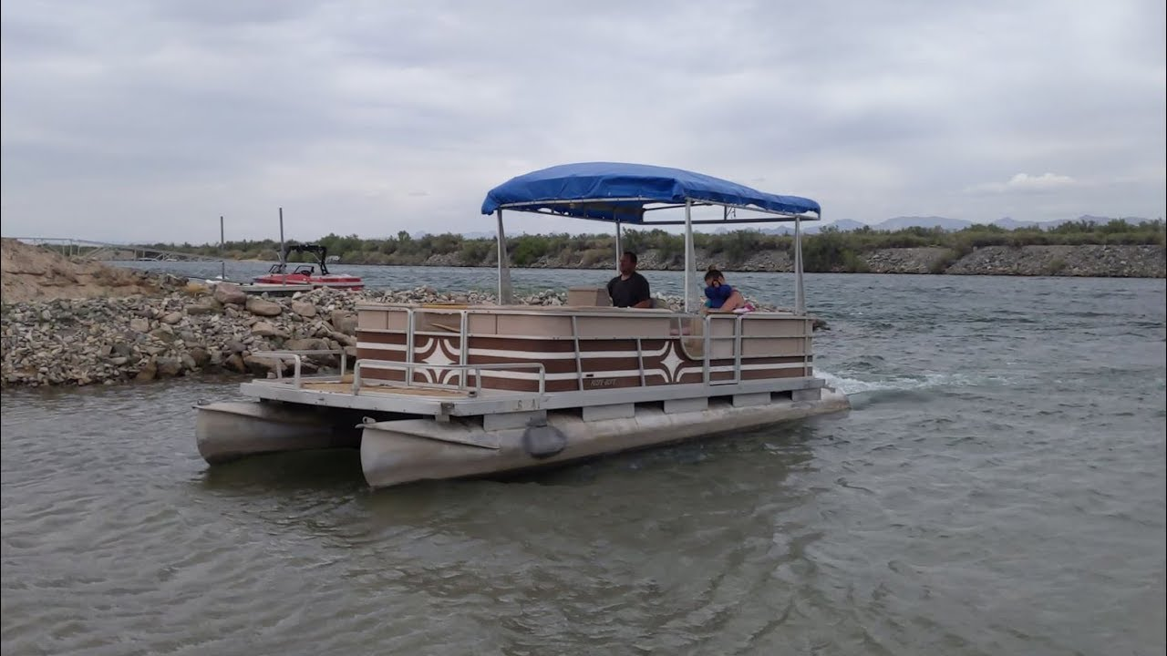 i bought the cheapest pontoon boat on craigslist