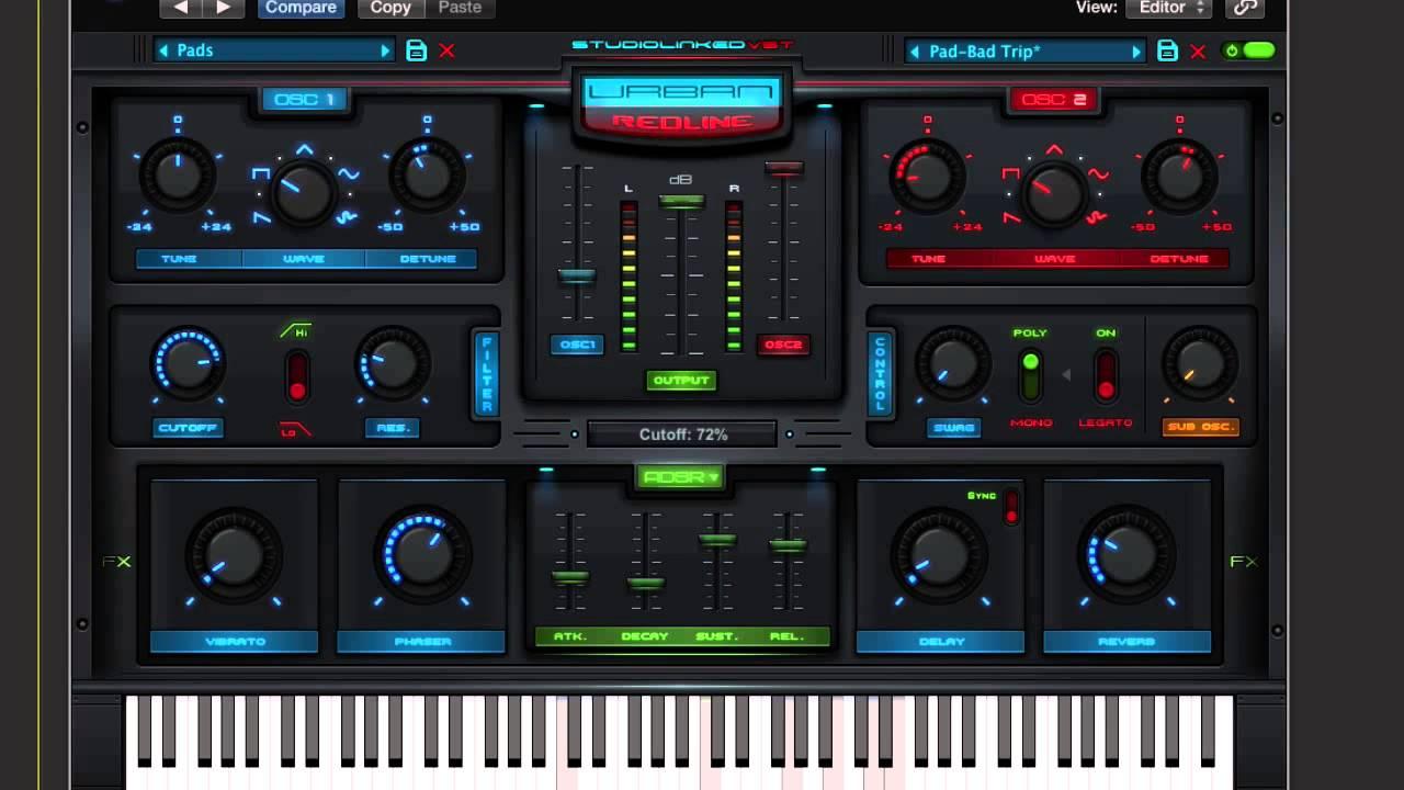 Urban Redline Synthesizer Hip Hop Trap Edm Youtube
