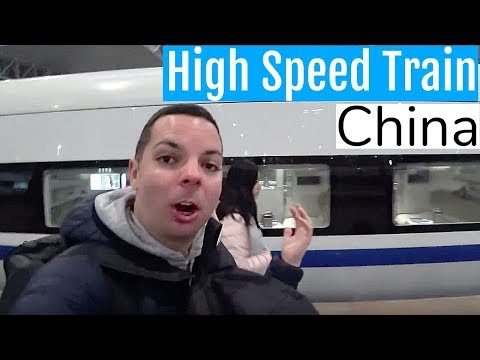 How I Travel in China | High Speed Train