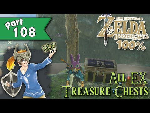 Legend Of Zelda: Breath Of The Wild 100% Walkthrough Part 108 - All DLC EX Sidequests!