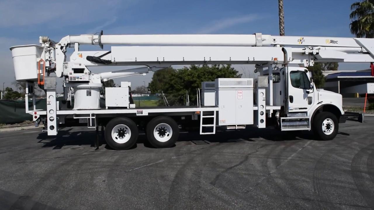 2009 Freightliner M2 112 Altec HL125 130' Bucket Truck For Sale  www bigtruckequipment com