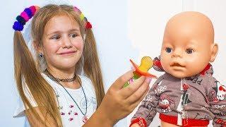 Кукла Беби Бон Настя  Яна КАК МАМА Baby Born doll