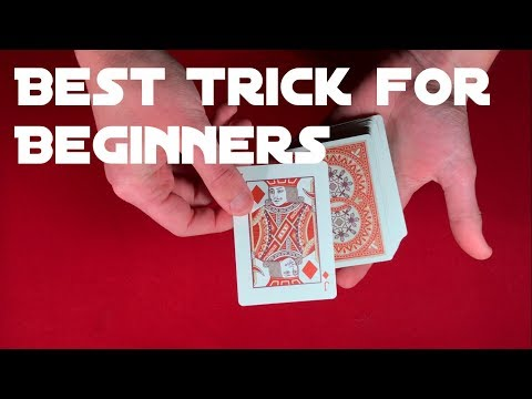 Absolute Best Card Trick for Beginners!