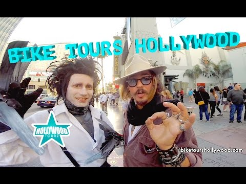BIKE TOURS IN HOLLYWOOD CALIFORNIA