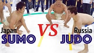 Judo (Russia) vs Sumo (Japan)