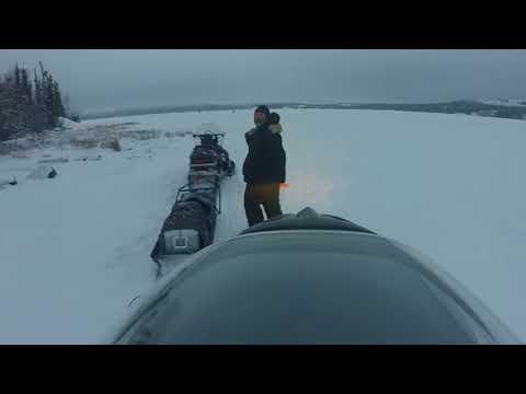 River Lake Crossing Northwest Territories