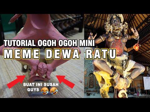 TUTORIAL OGOH OGOH MINI - Meme Dewa Ratu | Part 4 Pemasangan Sel Kepala Sp*rma Manusia