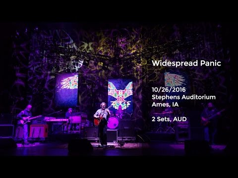 Widespread Panic Live at Stephens Auditorium, Ames, IA - 10/26/2016 Full Show AUD