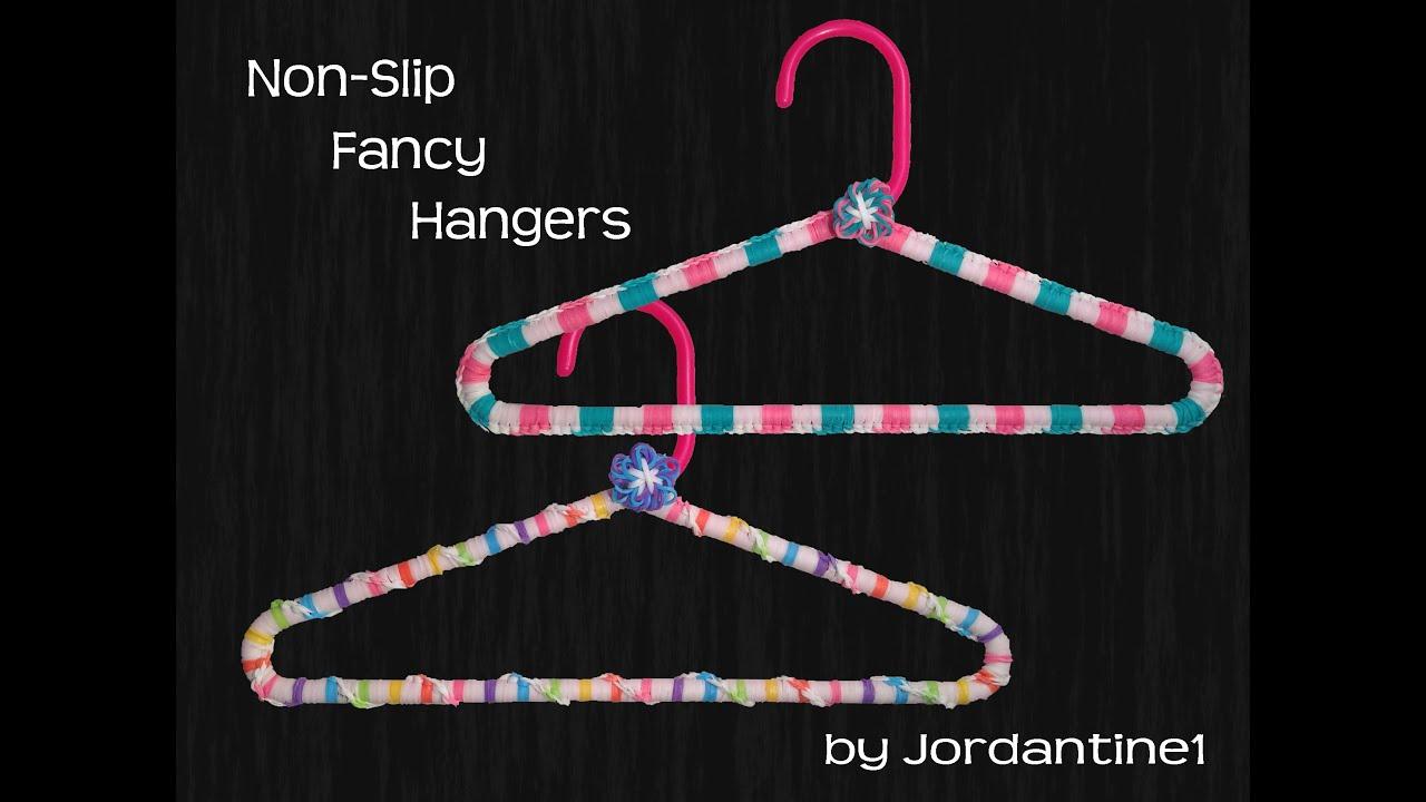 New Non Slip Grip Clothing Hanger Cover Rainbow Loom