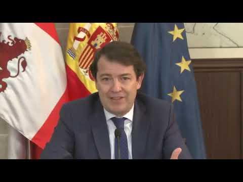 Mañueco anima a los empresarios a desempeñar un papel protagonista en los fondos europeos