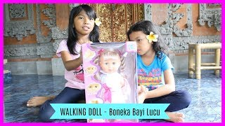 UNBOXING BONEKA BAYI LUCU ♥ WALKING DOLL