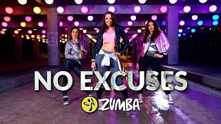 """NO EXCUSES"" - Meghan Trainor / Zumba® choreo by Alix with Audrey & Maeva"
