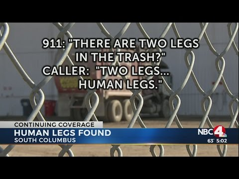 Two human legs found in south Columbus trash facility