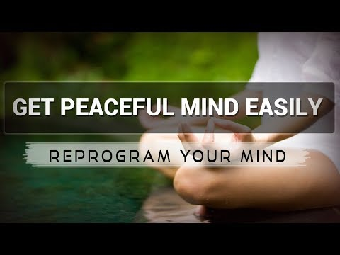 Positive Affirmations for Peaceful Mind - Law of attraction - Hypnosis - Subliminal