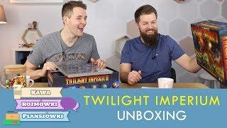 Unboxing Twilight Imperium 4ed   Kawa, rozmówki i planszówki