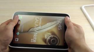"ОБЗОР: Фирменный Чехол-Накладка для Samsung Galaxy Note 8.0 N5100 ""Kashi"" (силикон + поликарбонат)"