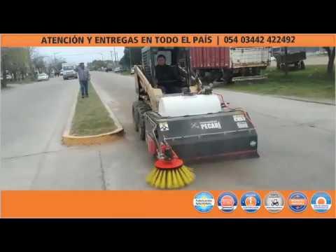 Barredora en acción | municipalidad de Bolivar | Nov2016