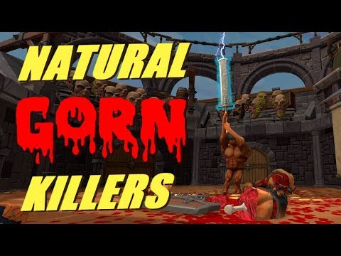 Natural GORN Killers - ACTUAL GREATSWORD! Giant Champion, INSTAGIB &MORE!(VR gameplay,no commentary)