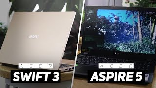 Acer Swift 3 VS Acer Aspire 5 2019! - Which Is Better At $600?