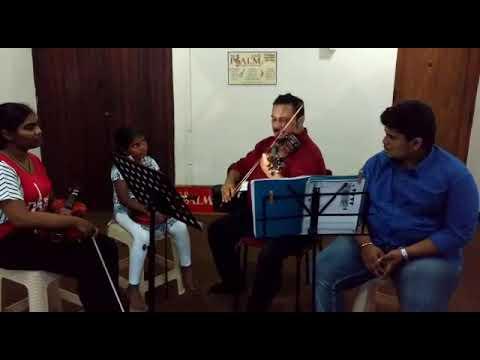 CELLO SELVARAJ TEACHING VIOLIN FOR CHILDREN