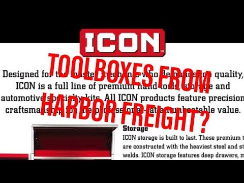 ICON Toolboxes and Professional Tools from Harbor Freight ...