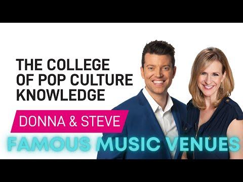 Famous Music Venues - College of Pop Culture Knowledge