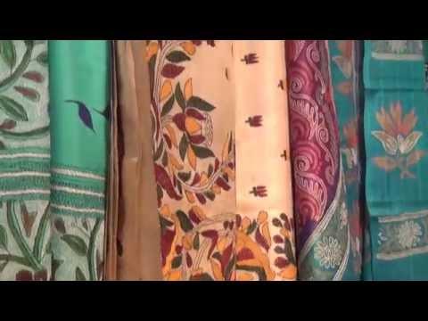 Shanti Niketan Kantha Work ,West Bengal | ShoppingAdviser