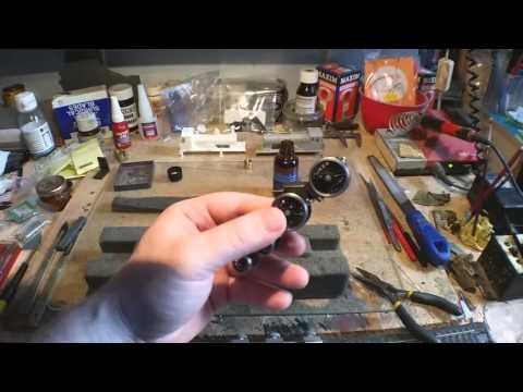 Building an SCC Loco Kit - Part 10 - Electrical Pickups & Springy Experiments