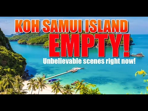 Koh Samui Island Thailand. Take a look at what ISN'T happening. The place is EMPTY! Unreal!