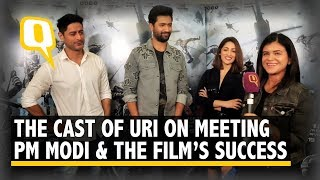 Vicky Kaushal, Yami Gautam, Mohit Raina Celebrate Uri's Success | The Quint