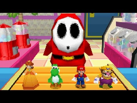Mario Party DS - Party Mode - Kamek's Library