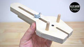 Adjustable Doweling Jig | DIY Dowel Jig